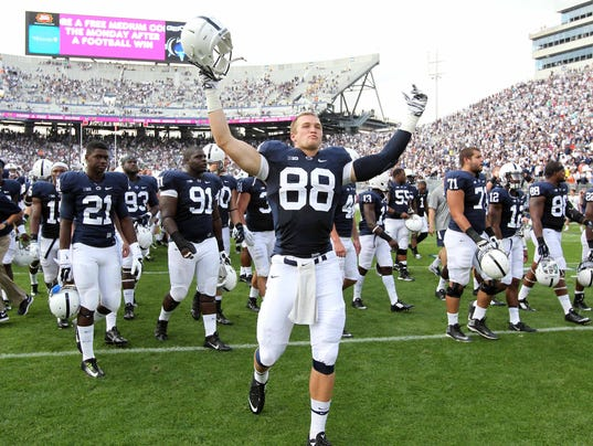 Should the NCAA have Rolled Back Sanctions Against Penn State ? 1410201805000-USATSI_8069529