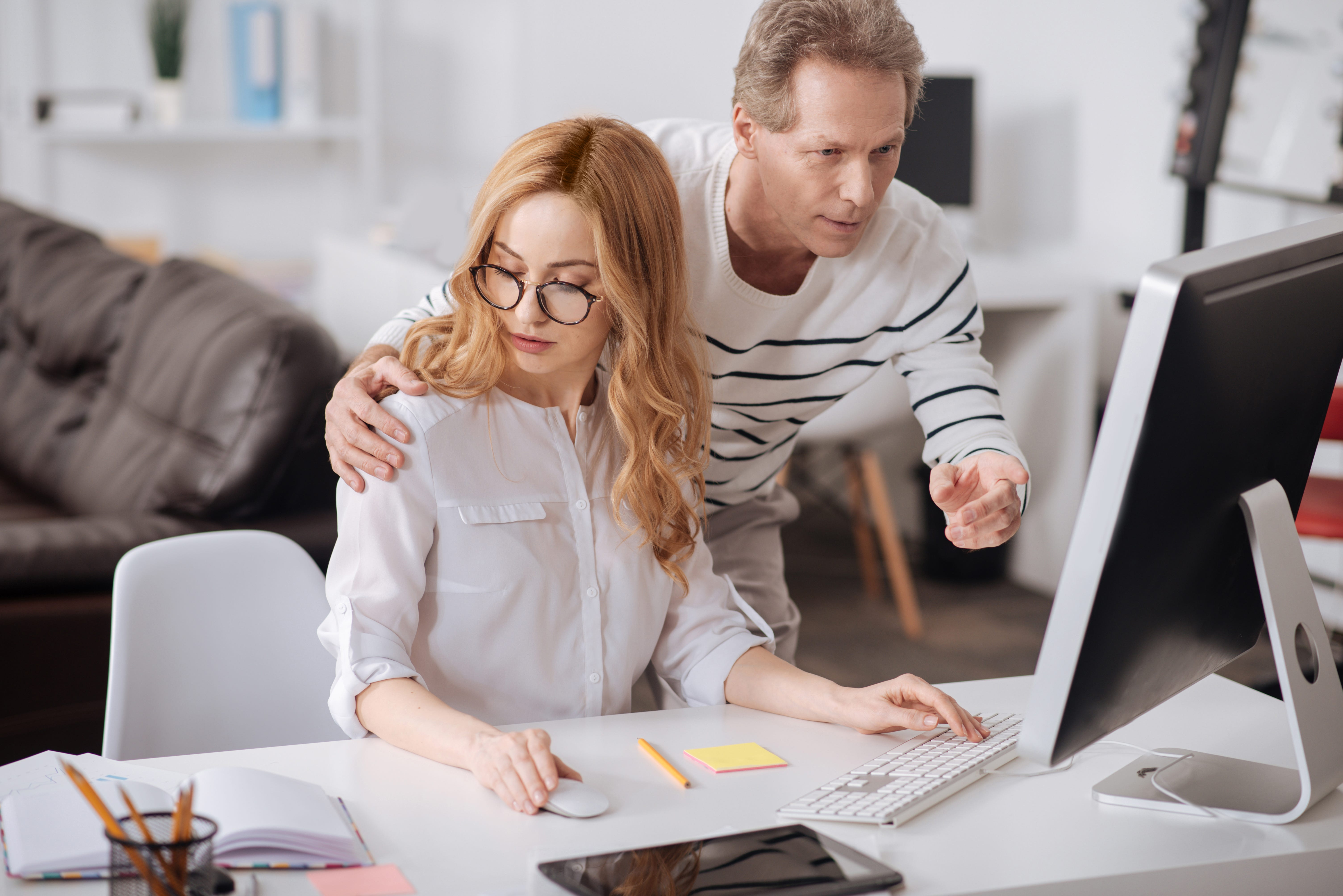 Sexually harass spouse