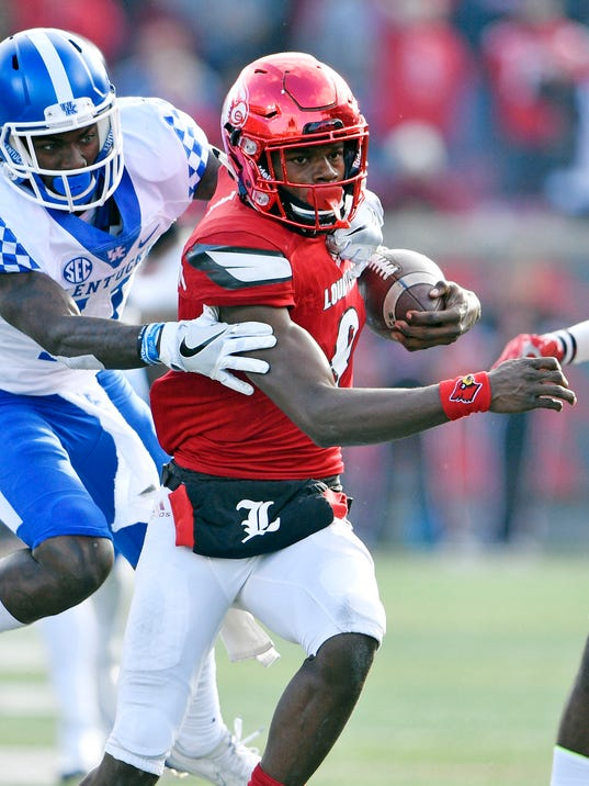 USP NCAA FOOTBALL: KENTUCKY AT LOUISVILLE S FBC USA KY
