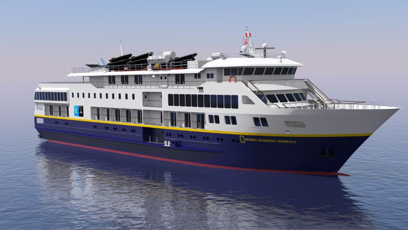 New Cruise Ships For 2017 National Geographic Quest