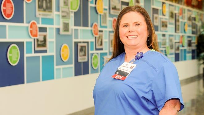 Christy Cates, RN Renal/Diabetic Medical Unit, St. Vincent.