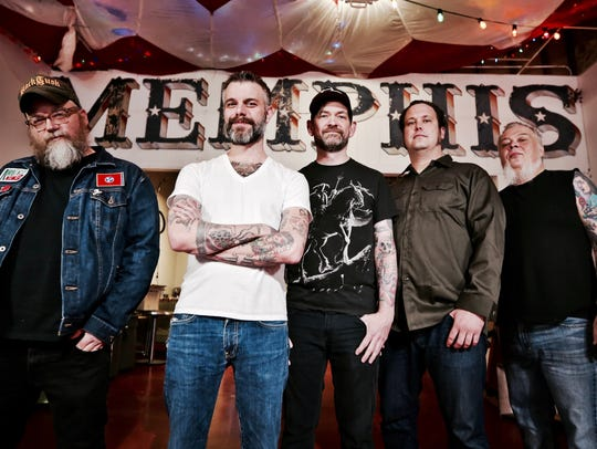 "Lucero hosts its ""Family Christmas"" concert at Minglewood Hall on Saturday."