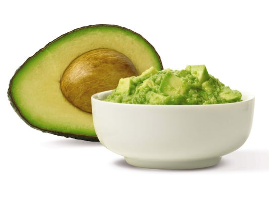 Avocados contain both saturated and unsaturated fats,