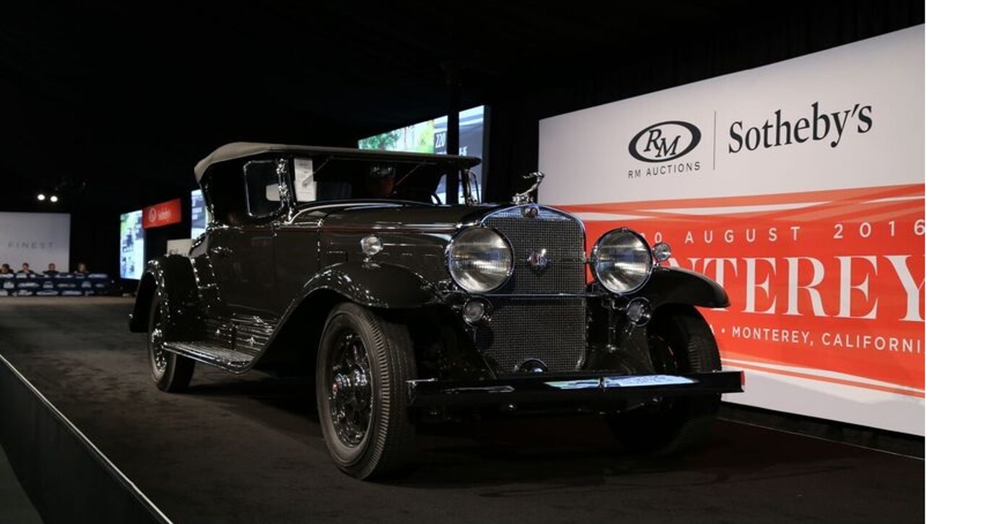 Local Car Auctions >> Collector Car Auctions In Monterey Bring Mixed Results
