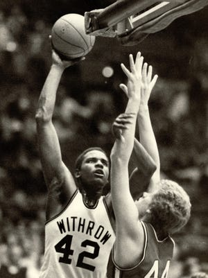 LaSalle Thompson of Withrow High. March 14, 1979.