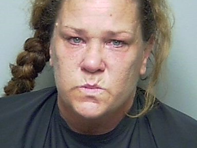 Betty Jo Oliver, 44 - Charged with battery and resisting officer July 30.