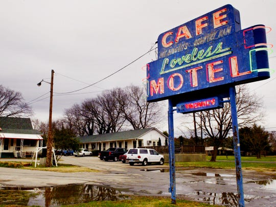 Loveless Cafe on Highway 100 is shown here in 2003