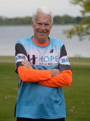 Hal Commerson a seven-time Boston Marathon runner will