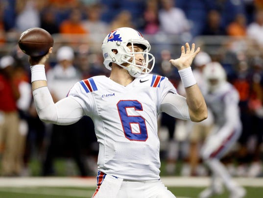 NCAA Football: Louisiana Tech at Texas-San Antonio
