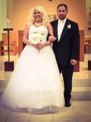 Elizabeth Wright and Nicholas Chadwick, Sept. 13, 2014