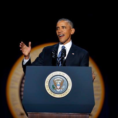 Heart of President Barack Obama's legacy is true change