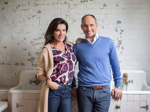 HGTV's Love It or List it hosts David Visentin and