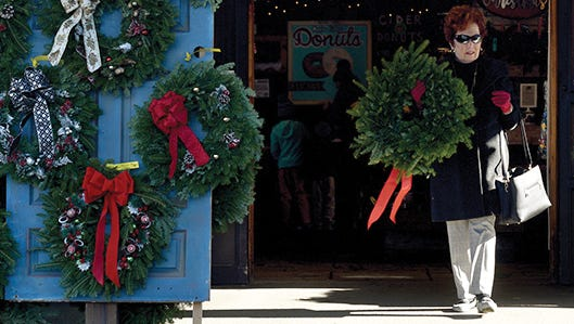 Wreaths infected with a fungus deadly to shrubs have reportedly been sold in Indiana.