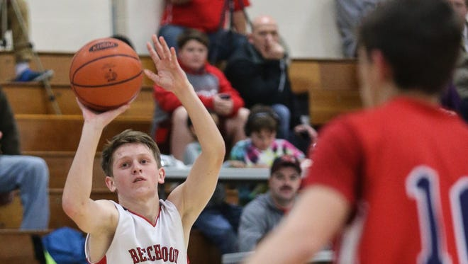 Beechwood's Joe Robbins averages nearly nine points per game and has emerged as the team's top defender.