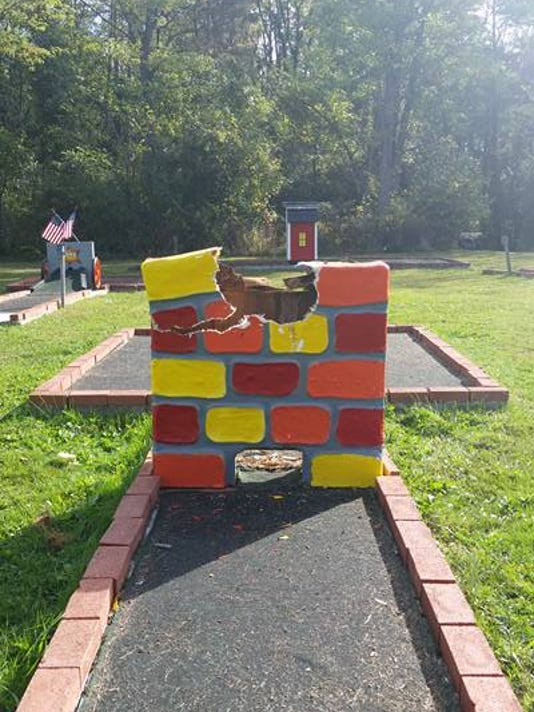 Humpty Dumpty Ripped From Wall At Campground Recovered