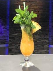 Jon Swan's Random Tiki Cocktail is rum forward, to