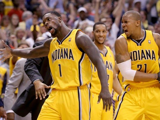 Pacers Sider New Lance
