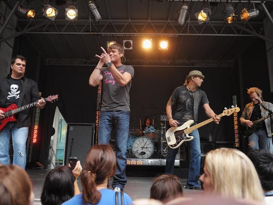 """Three Doors Down Performs On """"FOX And Friends"""""""
