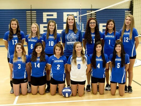 The Carlsbad Intermediate School volleyball program's White team finished third in Saturday's Border Conference championships.