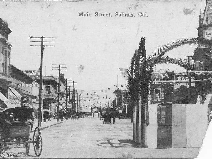 Main Street in early Salinas