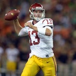 USC's Max Wittek announced Wednesday that he will transfer and play his final two seasons at another school.
