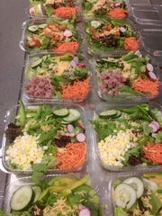 Meal prepping helps the Bridal Boot Camp contestants sty on track with their diets.