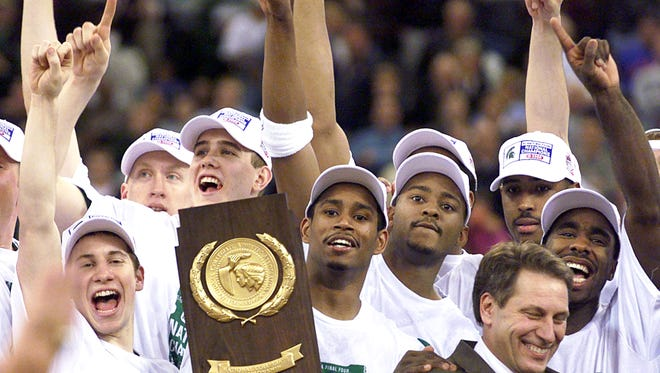 Fittingly, Florida's visit to Michigan State on Saturday will be accompanied by a visit from MSU's 2000 national championship team.