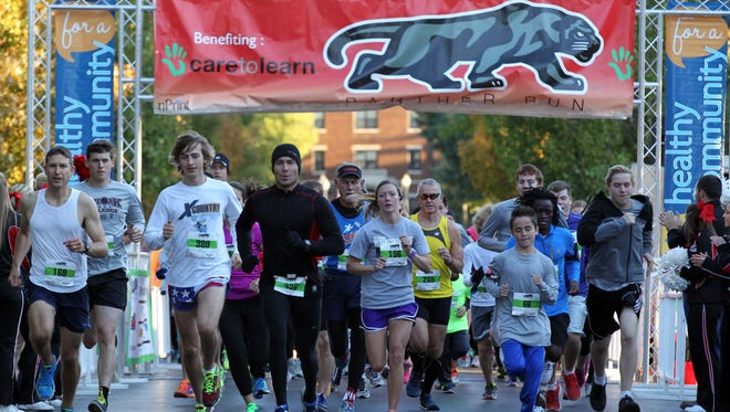 The Panther Run begins at Drury on October 1.