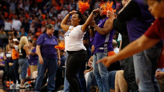 The Phoenix Mercury do have fans. They are passionate about their team, too.