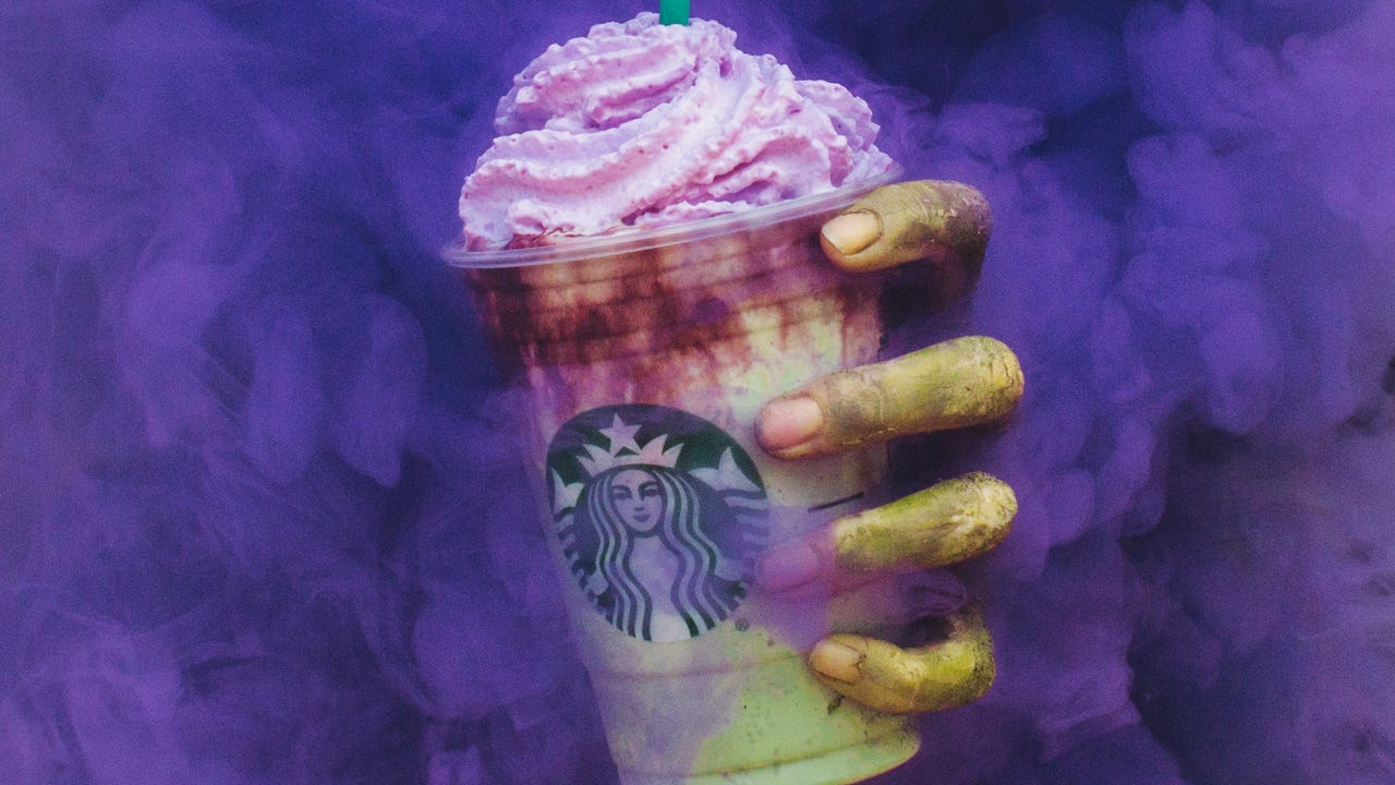 Zombie Frappuccino comes to life for Halloween