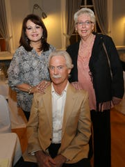 Norma Calderon, John Mundie and Lynn Mottley