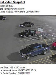 Photos from the crime scene at Morganfield Walmart. The Kentucky Arson Task Force is offering a $1,000 reward for information leading to an arrest and conviction if you call the Arson Task Force at 1-800-27-ARSON.