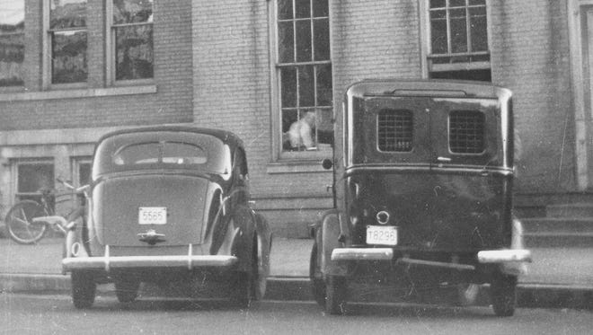 The Henderson Police Department's paddy wagon, commonly known as Black Annie, was stolen in 1942 and recovered a short while later at the end of Airline Road with three of its tires slashed.