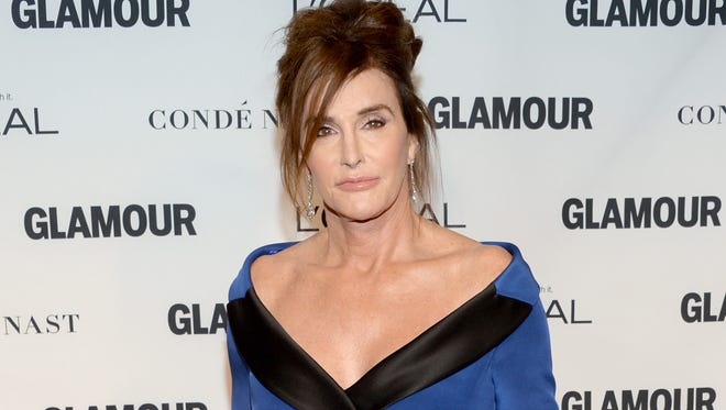 Caitlyn Jenner at the Glamour Woman of the Year Awards on Nov. 8, 2015.