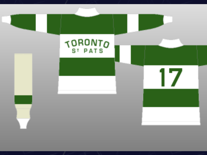 Prior to the 1919-20 season, the Toronto Arenas were