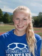 Rebecca Wenschof, McConnellsburg girls soccer