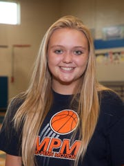 Katelyn Truax, McConnellsburg girls volleyball