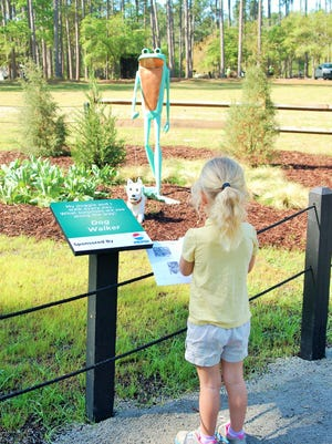 Brookgreen Gardens in Murrell's Inlet, S.C of my daughters, ages 7 and 3, and my mother, Karen Crawford.