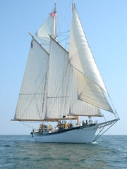 The 85-foot-long tall ship the Appledore IV has sailed the Great Lakes for nearly 20 years.