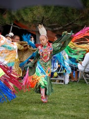 A dancer performs during last year's Totah Festival