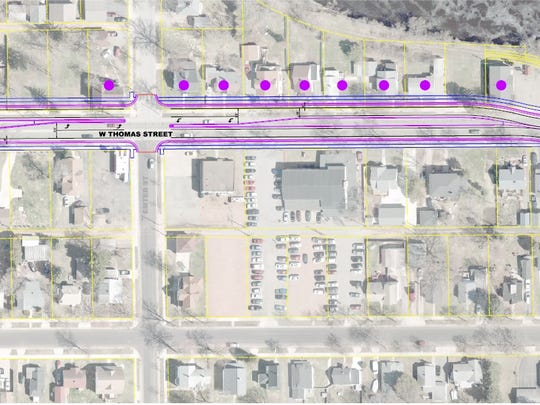 A first look at what the impact of the second phase of Thomas Street construction may be.