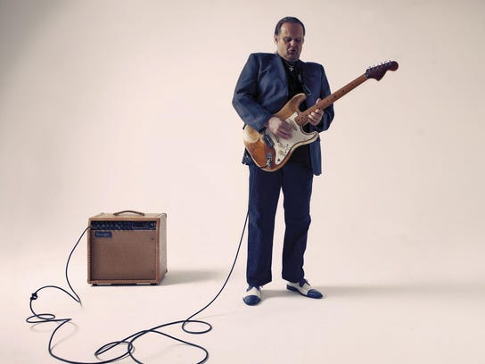 Blues guitar great Walter Trout plays Growlers on Saturday.
