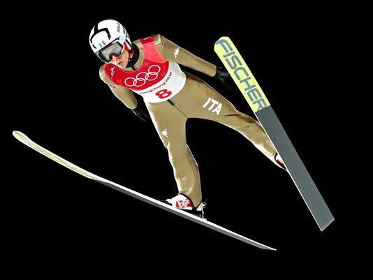 USP OLYMPICS: SKI JUMPING S OLY KOR