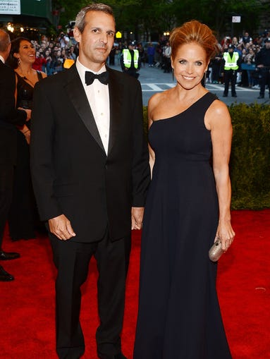 Katie Couric hasn't always had it easy in the relationship department. After her first husband's death in 1998, the journalist and talk-show host dated myriad men before getting engaged to financier John Molner over Labor Day weekend. Let's take a trip down memory lane and take a look at Couric's relationship history.
