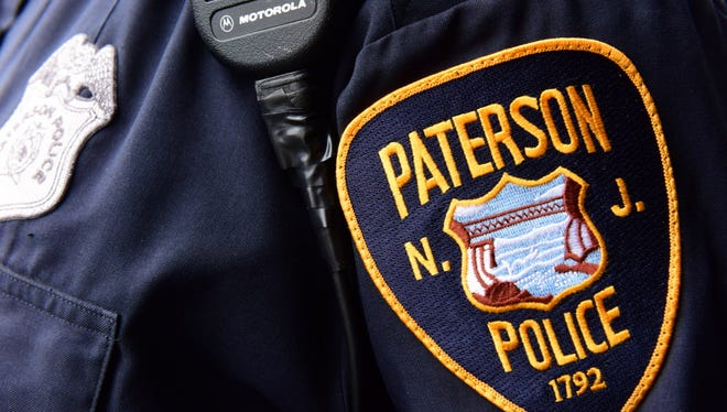 Paterson Police Department patch.