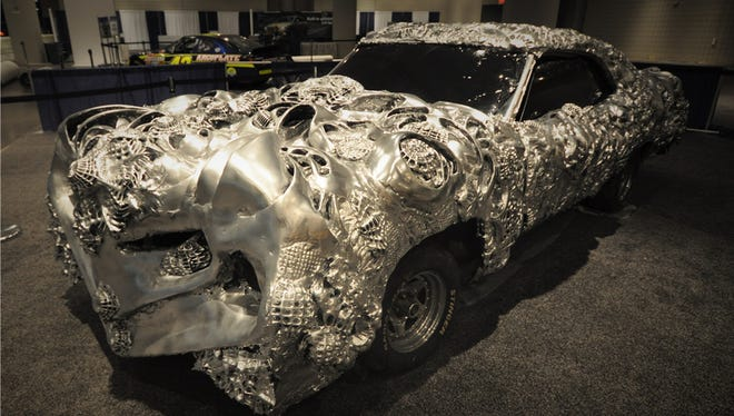This 3-D-printed 1971 Ford Torino is scheduled for auction at Barrett-Jackson Scottsdale on Wednesday, Jan. 18, 2017.