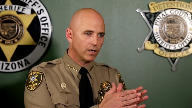 Pinal County Sheriff Paul Babeu and a county attorney are seeking to throw out a lawsuit brought on behalf of a San Tan Valley woman whose truck was confiscated and sold at auction under state forfeiture laws.