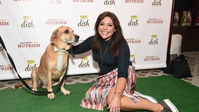 Rachael Ray recruited a few friends to help her celebrate the launch of Rachael Ray's Nutrish DISH.
