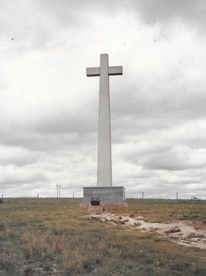 The Coronado Cross is located at 11666 US Highway 400 in Dodge City. SUBMITTED PHOTO