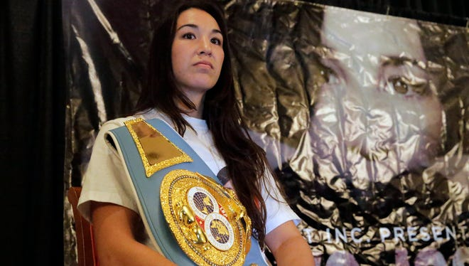 El Pasoan Jennifer Han will step into the ring Saturday night against Helen Joseph for the IBF featherweight title. Han said she has been waiting her pro career for a chance at a world title and on Saturday night that dream will come true.